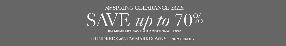 Clearance Event - Save up to 70%