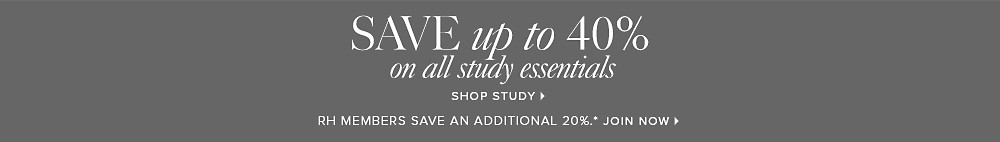 Save up to 40% on all study essentials