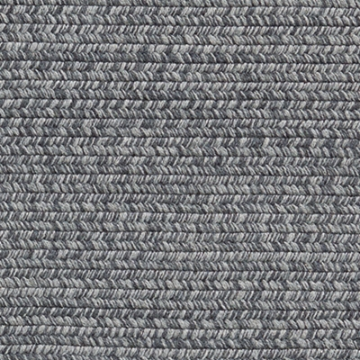 Two Tone Tweed Braided Wool Rug