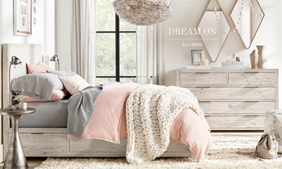 Shop All Bed Collections & All Beds | RH TEEN