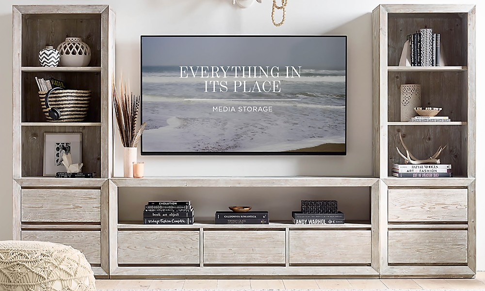 Swell Media Storage Rh Teen Home Interior And Landscaping Palasignezvosmurscom
