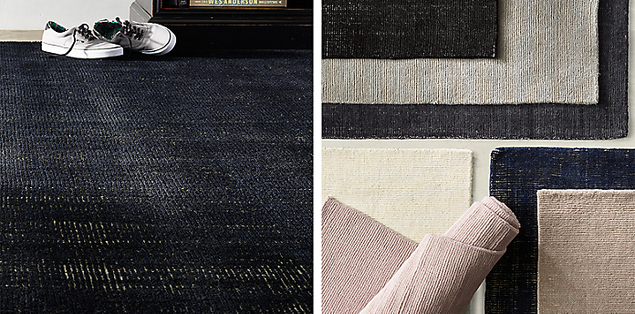 distressed wool rug collection | rh teen