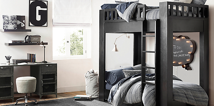 Callum Bunk Bed Rh Teen