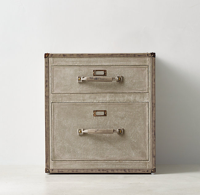 buy online 5c37f fa139 Glaston Trunk 2-Drawer Nightstand