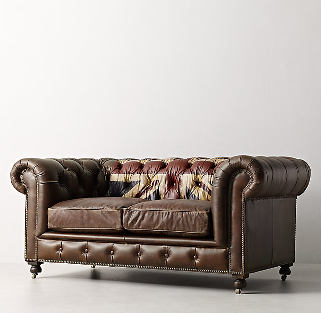 70 Kensington Union Jack Sofa