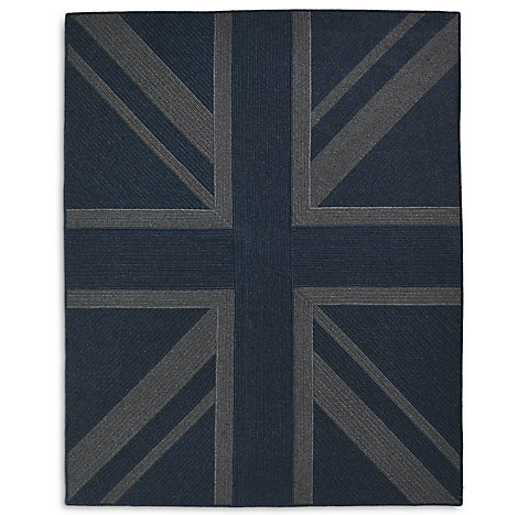 Union Jack Braided Wool Rug Collection Rh