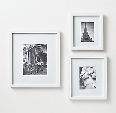 Wood Gallery Frame - White