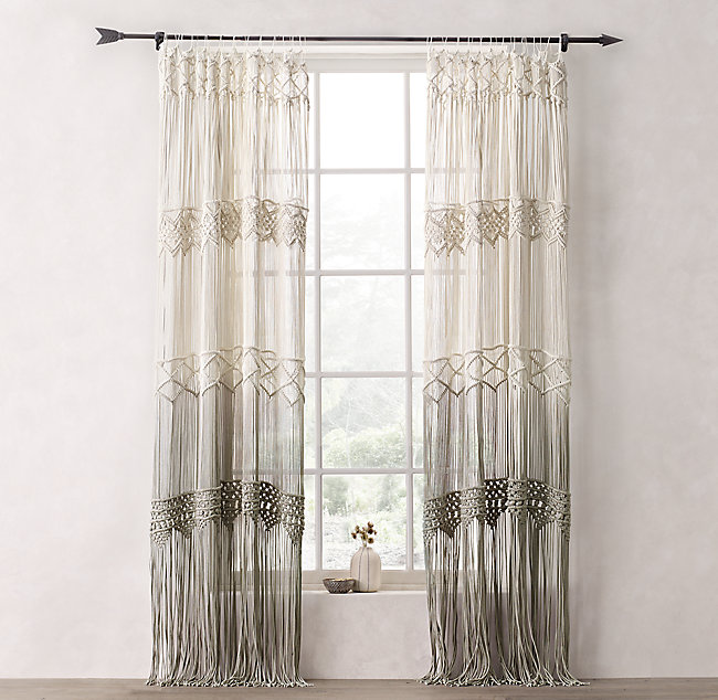 Passport To India Curtains Macrame Oh Decor Curtain