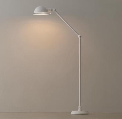 Academy task floor lamp white mozeypictures Image collections