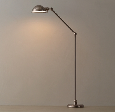 Academy task floor lamp antique pewter aloadofball Images