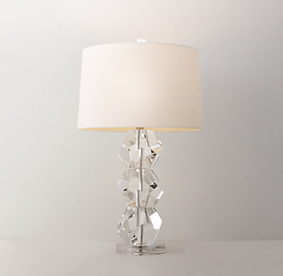 Beautiful Fiona Crystal Table Lamp Base