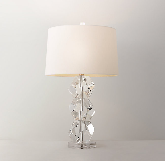 Fiona crystal table lamp base