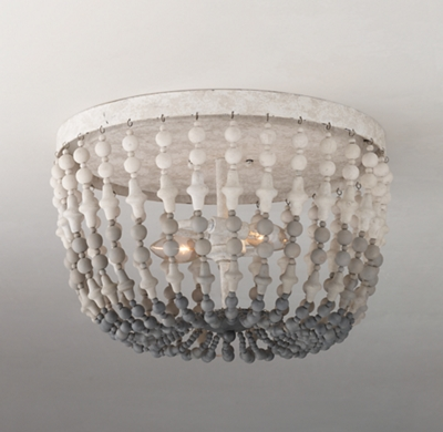 Flush Mount Beaded Chandelier thesecretconsulcom