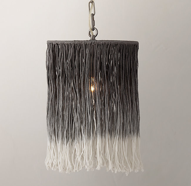 Ombr string pendant grey aloadofball Image collections