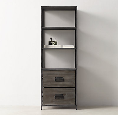 Views - Media Bookcase Tower