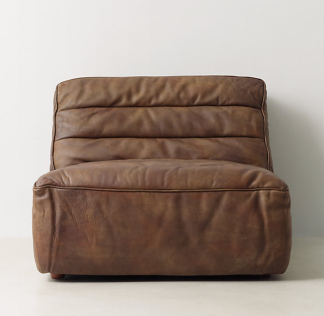Chelsea Leather Lounger