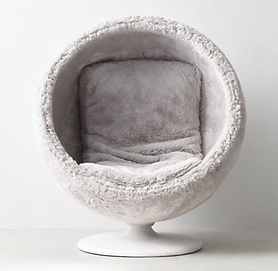 Orbit Luxe Faux Fur Chair