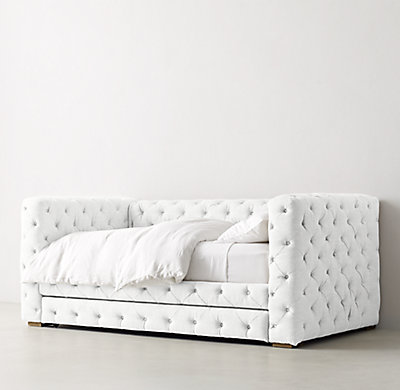 Tribeca Tufted Daybed With Trundle