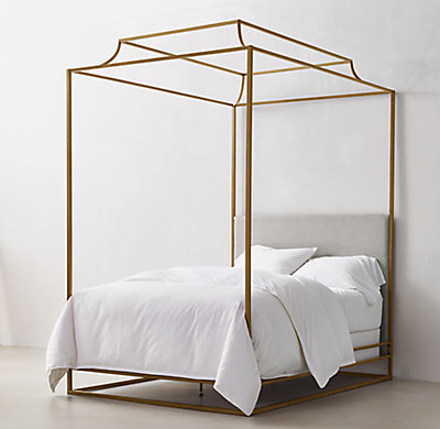 Teen Canopy Bed cecily canopy bedroom | rh teen