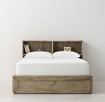 Keynes 8 Drawer Storage Bed With Cubby Headboard