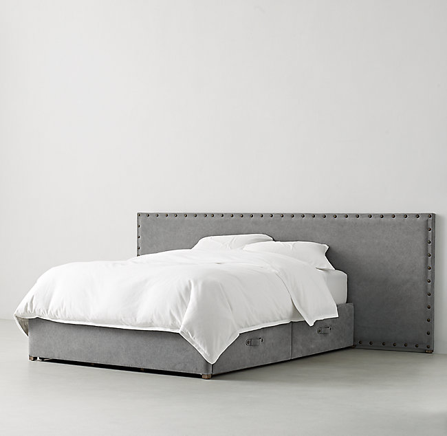 Axel Upholstered Wide Storage Bed