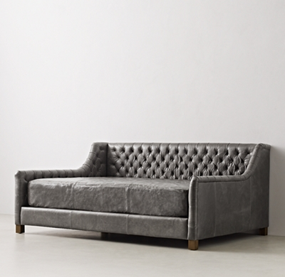 Daybed Mattress Leather Slipcover