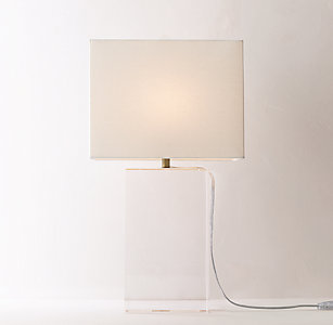 Table lighting rh teen mallory crystal table lamp with shade aloadofball Images
