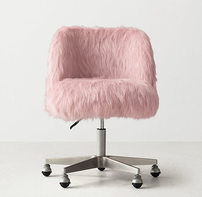 Alessa Kashmir Faux Fur Desk Chair - Pewter on desk chair, fur chair for teen room, justice zebra chair, fur chair covers, fur sewing machine, fur butterfly chair, faux fur chair, fur phone chair, fur saucer chair, fuzzy chair, fur leather, fur stool, extra large chair, fur bed, man in chair, fur chairs for tween girls, fur travel chair, fur couch, fur computer chair, fur lounge chair,