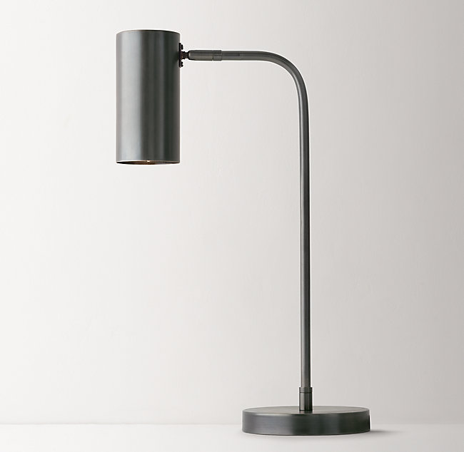 Task table lamp gunmetal regan task table lamp gunmetal aloadofball Gallery